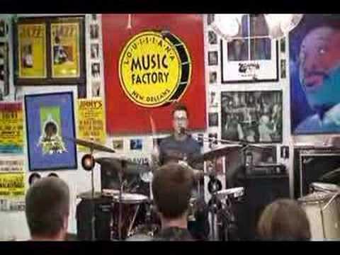 STANTON MOORE @ Louisiana Music Factory JazzFest 2007