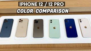 iPhone 12 / 12 Pro Color Comparison!