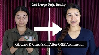 Secret Home Remedy for Glowing Skin| Durga Puja Special | 100% Results Gauaranteed