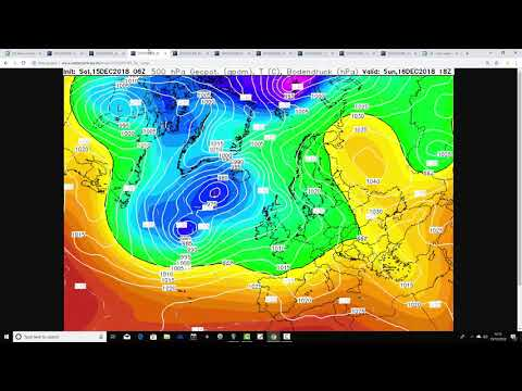 Weather Forecast For The Week Ahead: 15th To 23rd December 2018