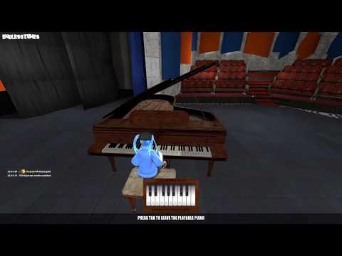 Gmod Redux Theater - Short Virtual Piano Session!