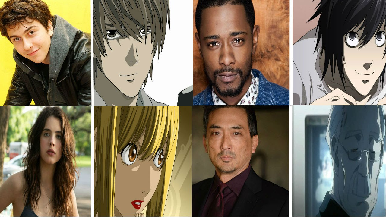 Netflix Death Note Live Action Film Cast Characters And