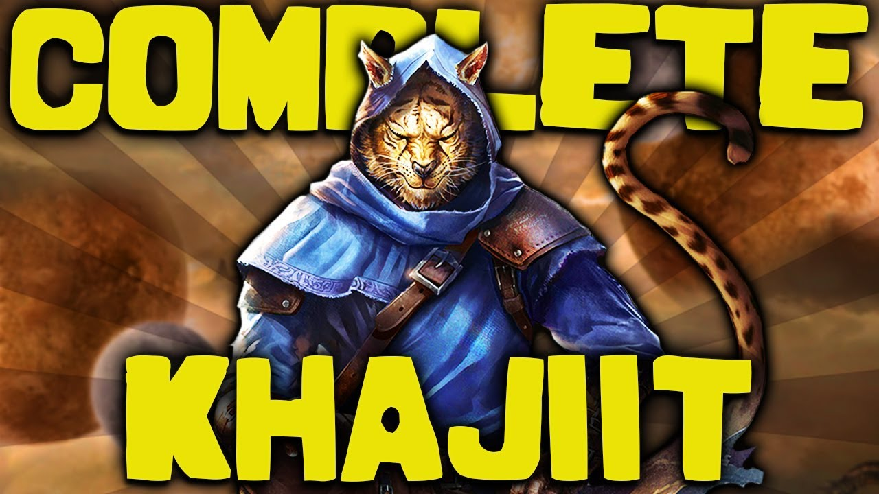 Skyrim - The COMPLETE Guide to the KHAJIIT - Elder Scrolls Lore thumbnail