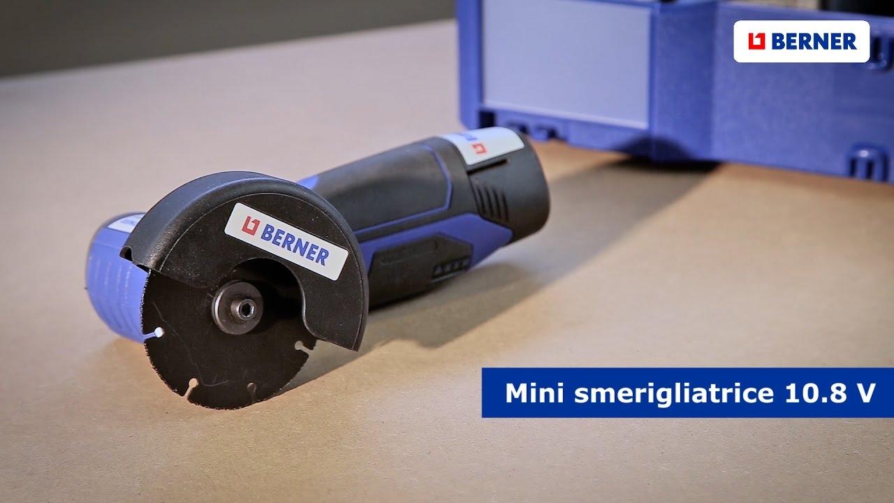 Mini smerigliatrice 10 8 v multiuso youtube for Smerigliatrice parkside
