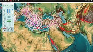 1/07/2019 -- Midwest USA to New York State = Earthquake activity spreads across plate