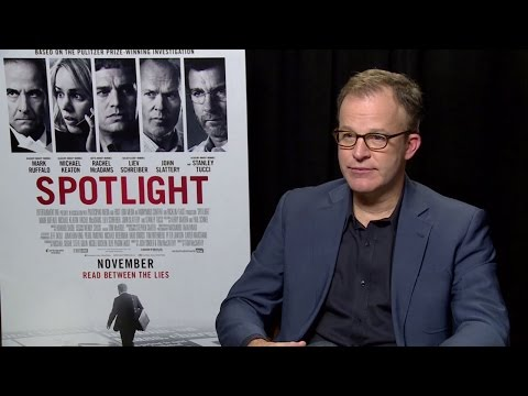 Tom McCarthy - Spotlight Interview HD