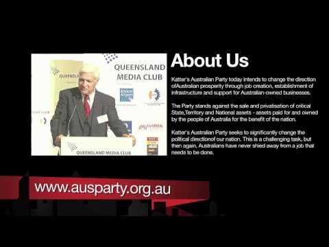 Bob Katter; Queensland Media Club