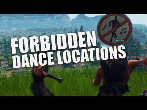 Fortnite: Dance In Different Forbidden Locations Guide
