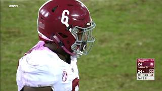 Alabama vs Mississippi State NCAA Football Highlights 2017