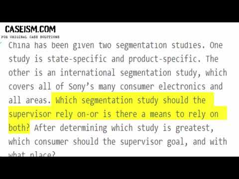 sony targets laptop consumers in china: segment global or local?