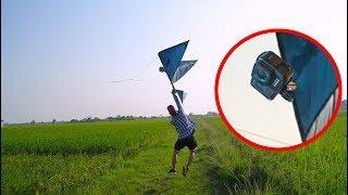 NTN - Thử Gắn Máy Quay Gopro Vào Diều (Attaching gopro to a kite)