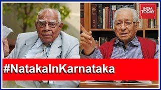 Former A-G Soli Sorabjee Slams Ram Jethmalani For 'Publicity Stunt' #NatakaInKarnataka