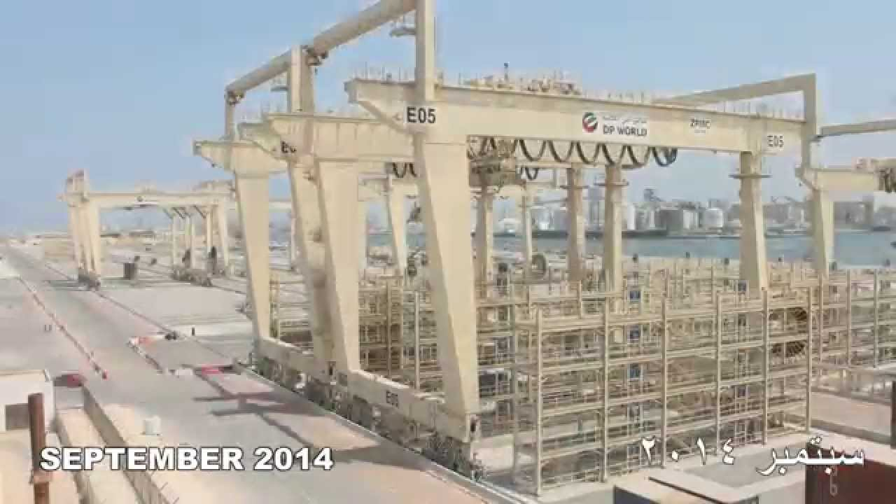 Container Terminal 3 Quay side - August' 12 - November' 14