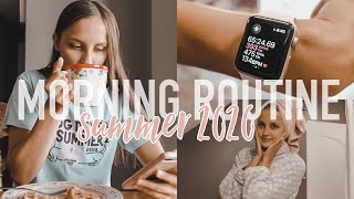 SUMMER MORNING ROUTINE 2020   productive + healthy