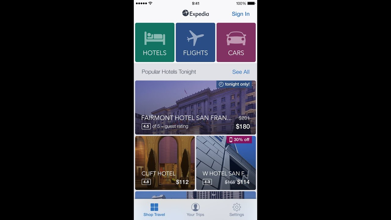 Expedia Hotels Flights Cars New Look Added Features