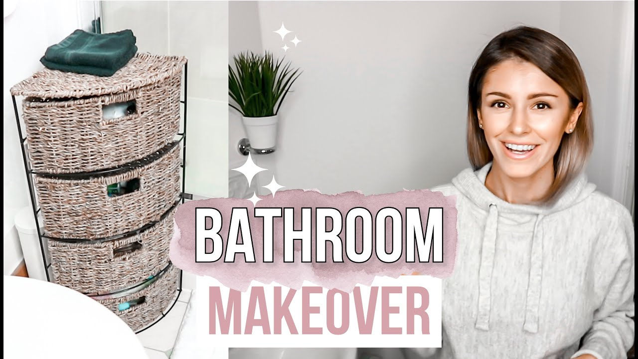 RENTAL BATHROOM TOUR & MAKEOVER ON A BUDGET | ENSUITE AND ...