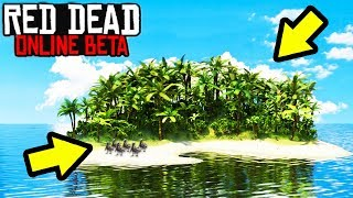 SECRET ISLAND EXPLOIT TO MAKE FAST MONEY in Red Dead Online! New GLITCH Location & Money Tips RDR2!