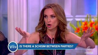Is There A Schism Between Political Parties? | The View