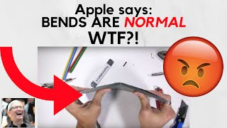 Apple says it's normal for your iPad to ship to you, bent.