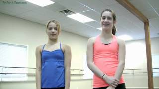 Straddle Jumps Dance Tutorial - Split Leaps - Travelling Russians