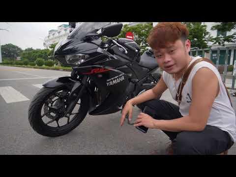 Yamaha R25 siêu chất chở gái hết xảy nha anh em, Alo Mạnh Motor 0939.331.388 chọn xe nhé!