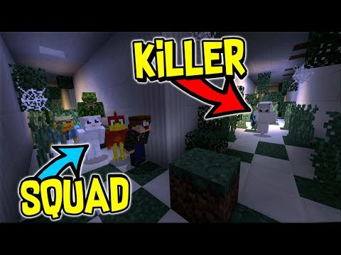 TRYING TO ESCAPE FROM THE KILLERS AS A SQUAD !! - Minecraft Soul Snatchers