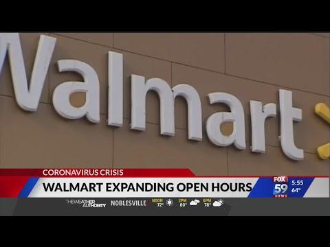 Walmart Expanding Open Hours