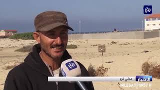 رحلة صيد محفوفة بالمخاطر على حدود غزة من أجل لقمة العيش - (12/12/2019)