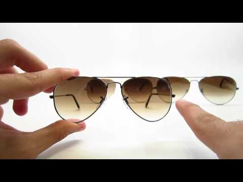 How To Size Ray Ban Aviators