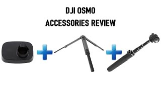 DJI Osmo Accessories Review in 4K   Stand + Tripod + Extension Rod
