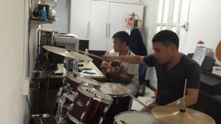 Những Đồi Hoa Sim - Guitar - Drum