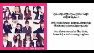 [HD] Apink 에이핑크 - Fairytale Love Lyrics [ENGLISH SUBS + HANGUL + ROMANIZATION]