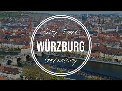 Würzburg CITY TOUR +  DRONE SHOTS (Germany) // DJI Mavic