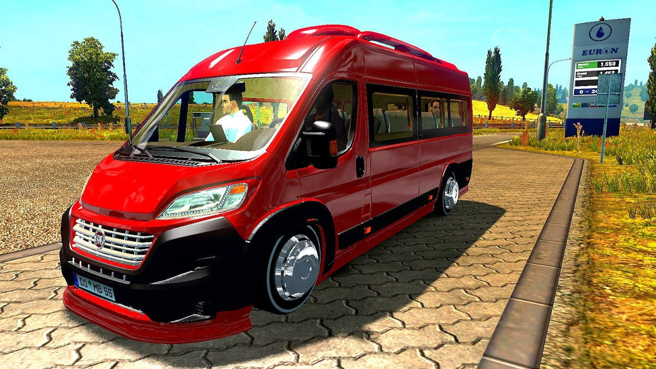 new fiat ducato maxi ets2 euro truck simulator 2. Black Bedroom Furniture Sets. Home Design Ideas