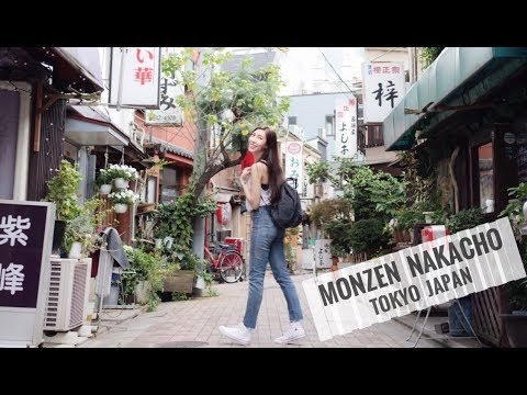 NOT ON YOUR TYPICAL TOUR GUIDE: TOKYO'S MONZEN NAKACHO!