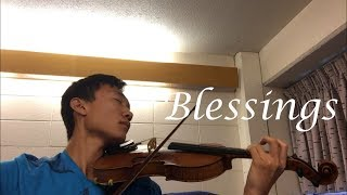 Blessings   Violin Cover (Laura Story)