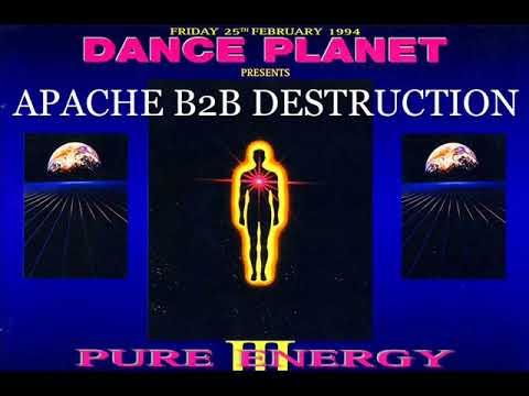 Apache & Destruction @ Dance Planet Pure Energy 3 25th Feb 1994