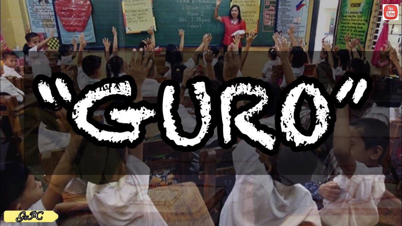 "Download ""GURO"" | Spoken Word Poetry Tagalog | Spoken Word For Teacher | Tula Para Sa Mga Guro"