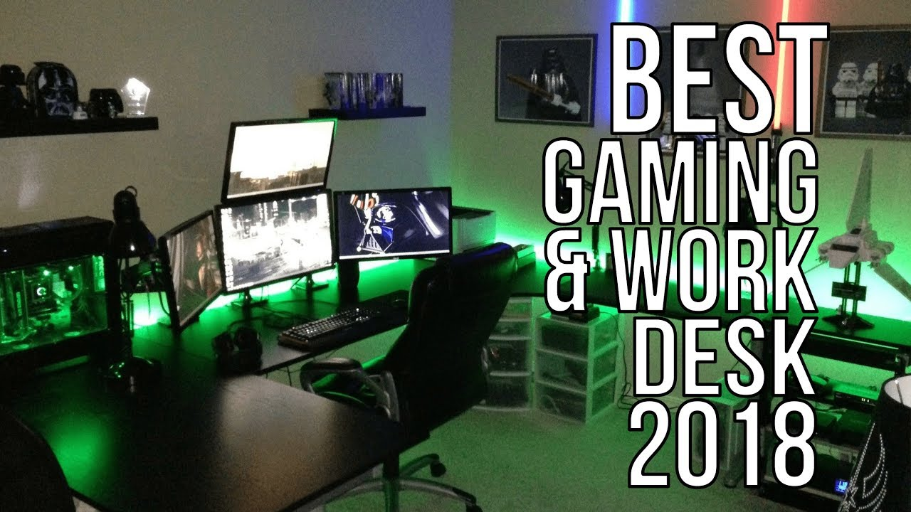 BEST GAMING & WORK DESK 2018 - TOP 10 BEST GAMING AND WORK DESK TABLE 2018