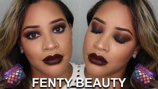 Fenty Beauty Moroccan Spice Palette Smoky Eye   Makeup Tutorial