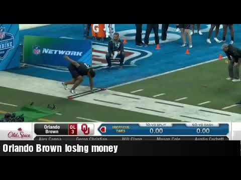 STUD OL ORLANDO BROWN Runs HORRiBLE 5.86 40