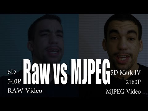Raw vs  4K MJPEG - Which is Bigger and/or Better???