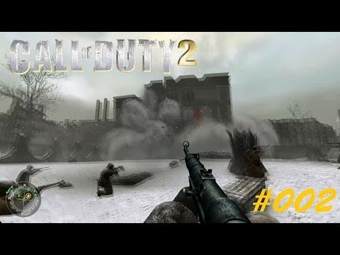 CALL OF DUTY 2 [HD] #002 - Telekom Russia ► Let's Play Call of Duty 2