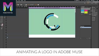 Animating a Logo in Adobe Muse | Adobe Muse CC | Muse For You