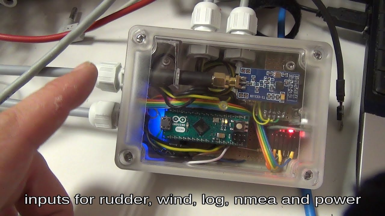 Part 2: Sailboat Arduino Autopilot, selfbuild, Magnetic- / Wind- and  Route-Steering