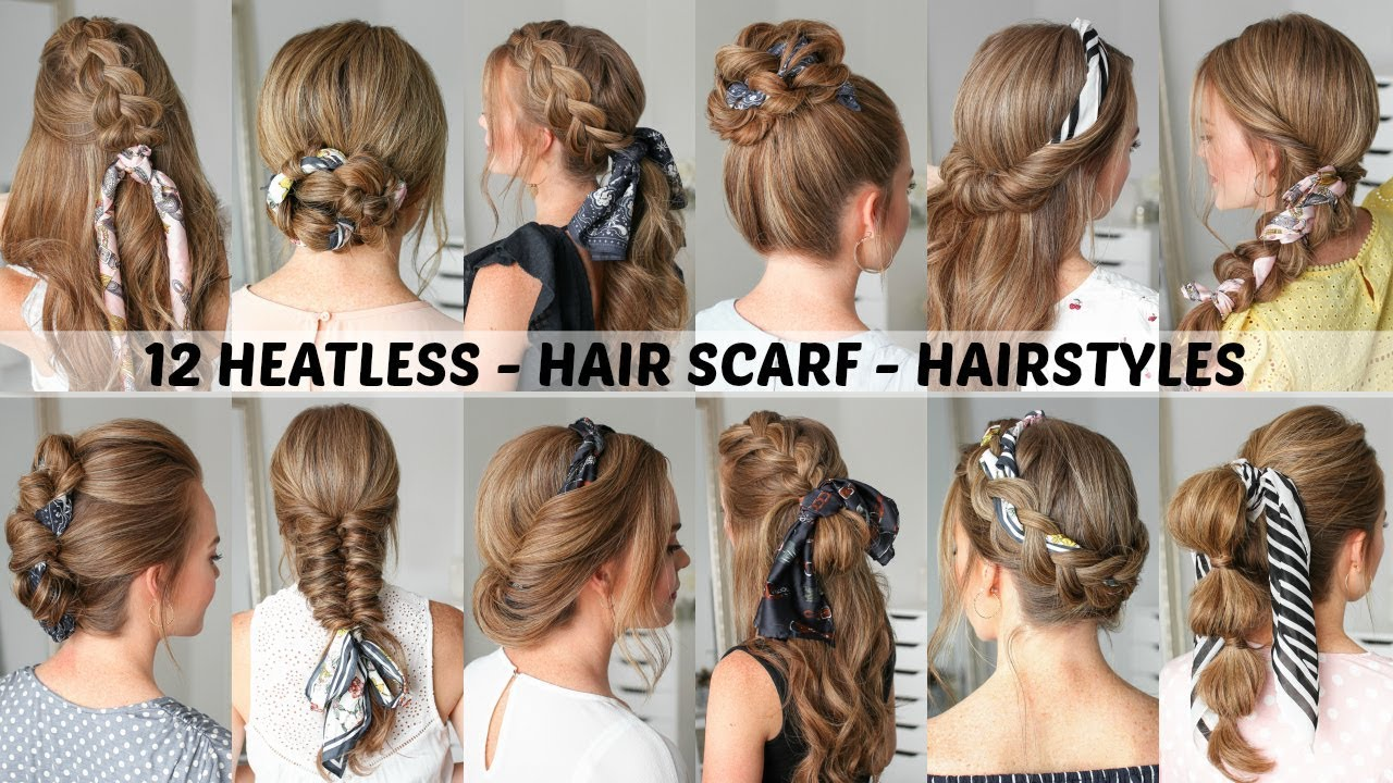 12 Hair Scarf Hairstyles Back To School Missy Sue Youtube