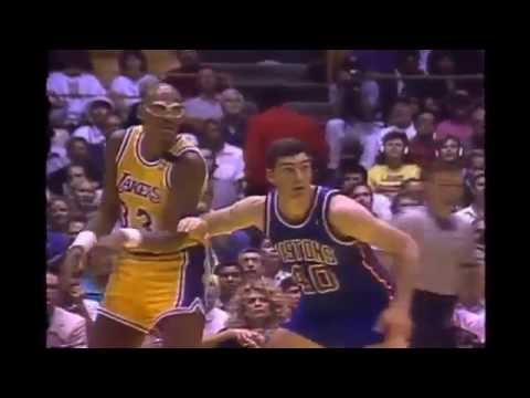 Kareem Abdul-Jabbar - 1989 NBA Finals Highlights (42 Years Old)