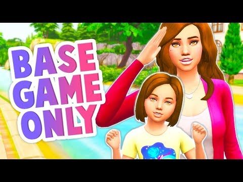 CAN I PLAY THE SIMS 4 WITH BASE GAME ONLY!? // NO PACKS, NO MODS, NO CC & NO CHEATS!