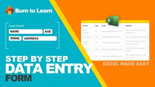 How to create a Data Form on Excel | Excel 2016