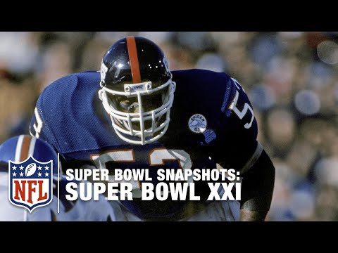 Super Bowl Snapshots: Harry Carson Remembers Super Bowl XXI | NFL